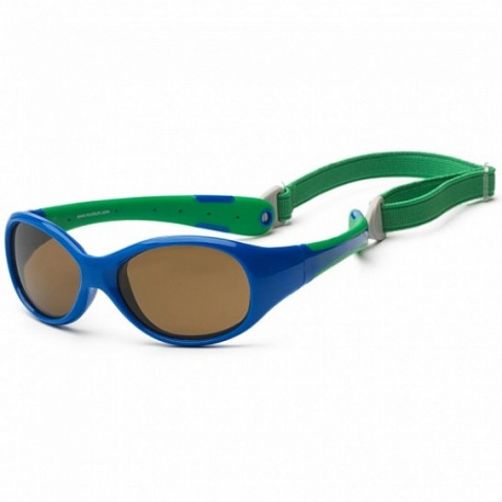 Zonnebril kind - Royal & Green -3-6 years - Koolsun - FLEX -