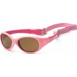 Zonnebril Baby - Pink & Hot Pink - 3-6 years - Koolsun - FLEX -