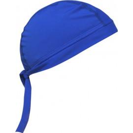 Hoofddoek blauw met UV bescherming