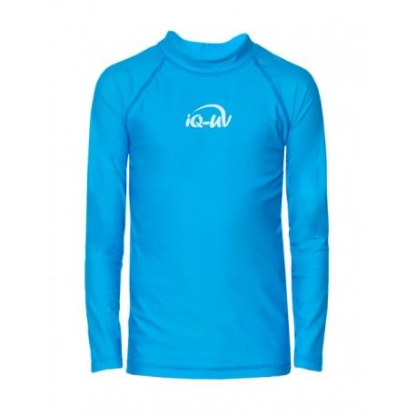 UV zwemshirt licht blauw met lange mouwen