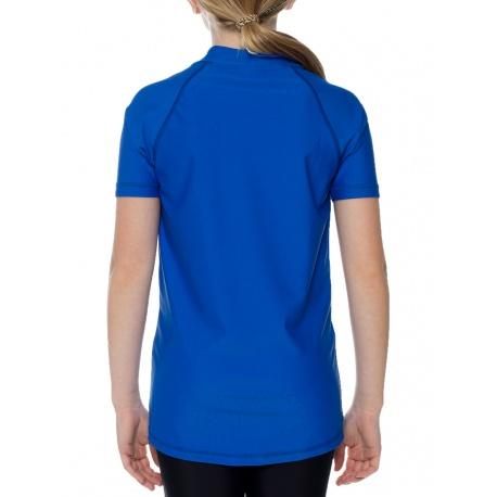 UV zwemshirt Blauw korte mouwen