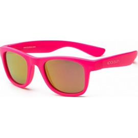 Zonnebril - Neon Pink - 3-10 years - Koolsun - WAVE