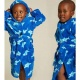 fleece badjas haai | kinder badjas