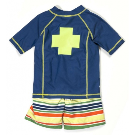 UV shirt & boardshort Multistripe