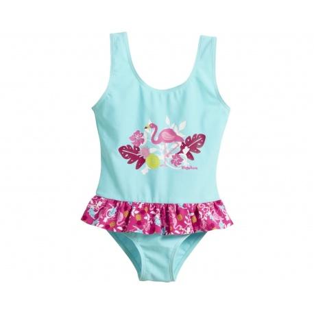 Badpak Meisje flamingo's