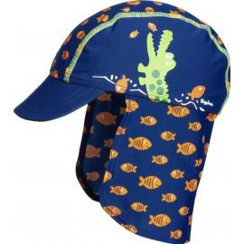 Zonnehoedje Krokodil met flap