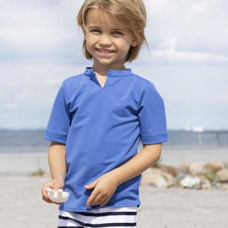 UV Shirt Blauw - crab