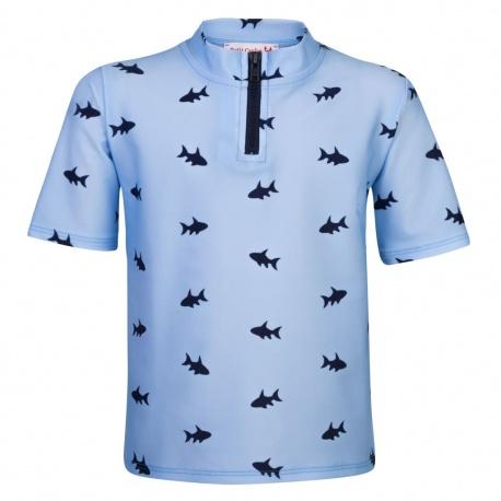 UV Shirt  Blue Fish