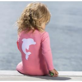UV Zwempak Watermellon - lange mouwen & pijpjes
