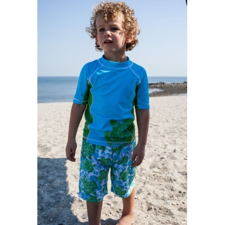 UV shirt & boardshort Green Turtle