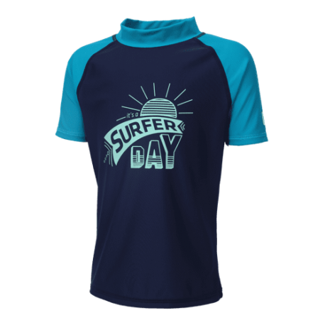 UV shirt Surf Blue