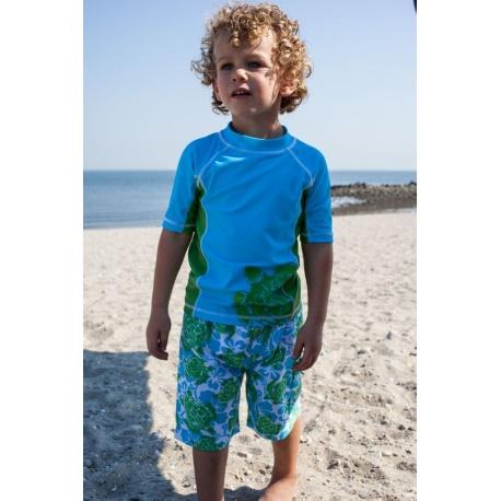 UV shirt & boardshort Green Turtle