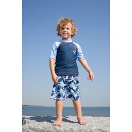 UV shirt & boardshort Blue Crab