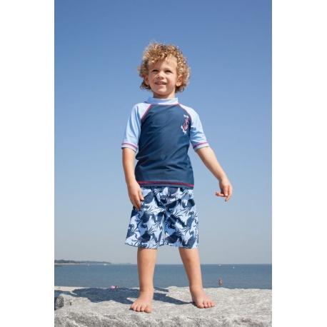 UV shirt & boardshort Blue Crab