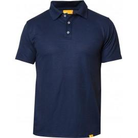 Polo Shirt Blauw met UV bescherming