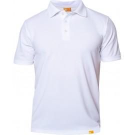 Polo Shirt Wit met UV bescherming