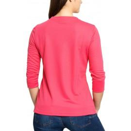 UV Shirt Raspberry 3/4 mouw