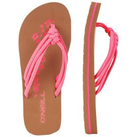 Ditsy Sandals - Shocking Pink