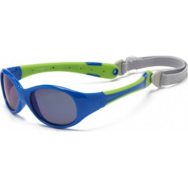 Zonnebril - Bluel & Lime - 0-3 years - Koolsun - FLEX -