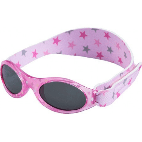 Zonnebril Pink Star - 0-2 years - Dooky BabyBanz