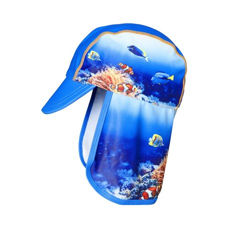 Zonnehoedje met flap Underwater World