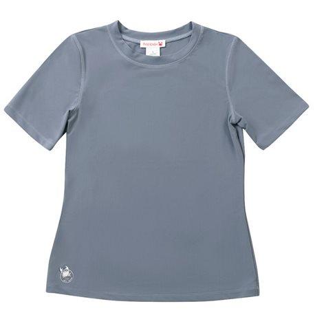 UV shirt Dames Midnight Fog - korte mouw