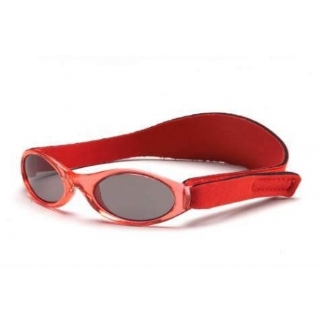 KidzBanz zonnebril - Rood (2-5 jr)