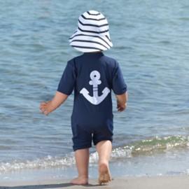 UV zwempak Blue Anchor - korte mouw
