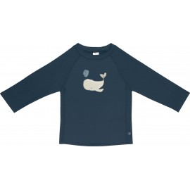 UV shirt Whale - lange mouw - Blue