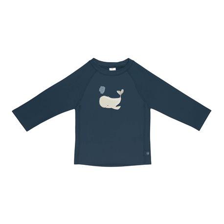 UV shirt Whale - lange mouw - Blue