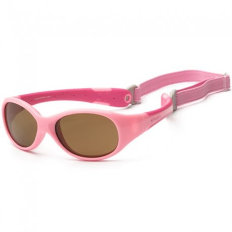 Zonnebril - Pink Sorbet - 0-3 years - Koolsun - FLEX -