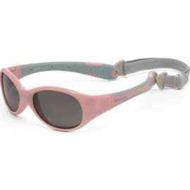 Zonnebril - Cameo Pink Grey -3-6 years - Koolsun - FLEX -