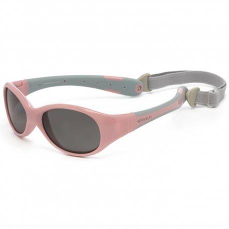 Zonnebril - Cameo Pink Grey -3-6 years - Koolsun - FLEX -