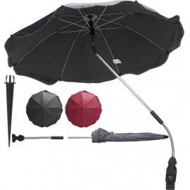 Parasol voor de kinderwagen rood