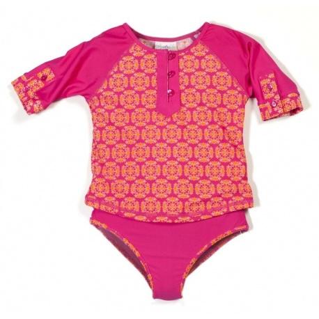 UV shirt & boardshort Bali Rose