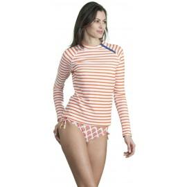 UV shirt orange stripe