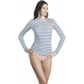 UV shirt navy stripe