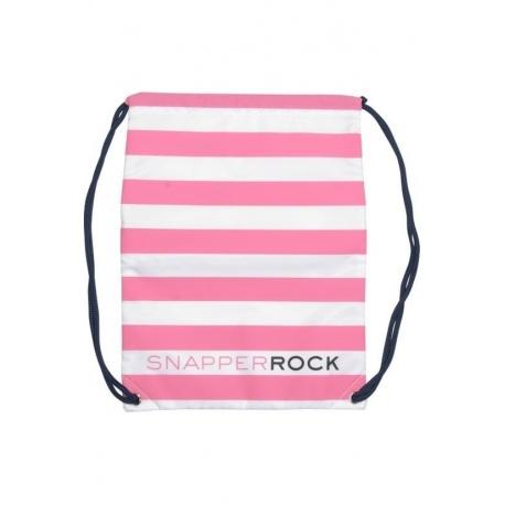 Zwemtas Pink/White stripe
