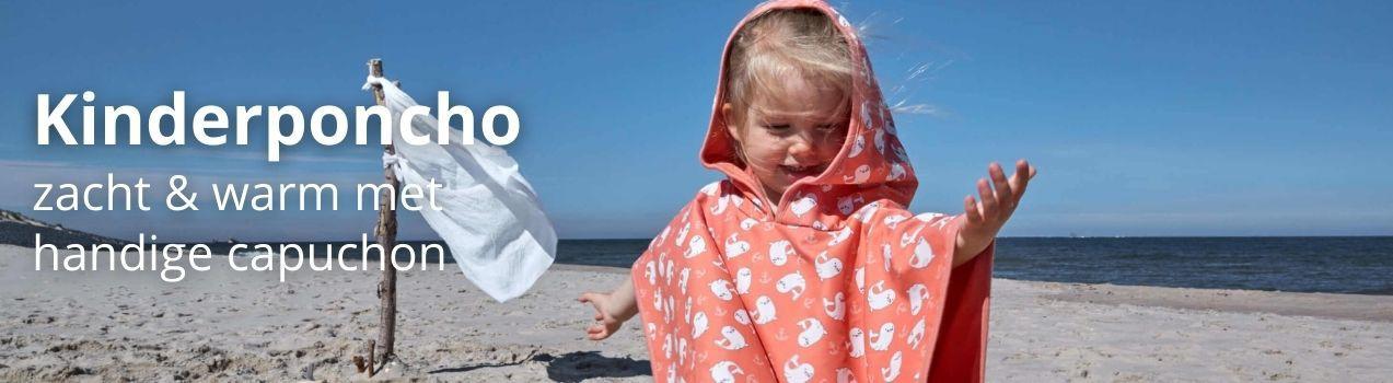 Badhanddoeken en poncho's