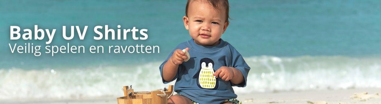 UV shirts voor baby's