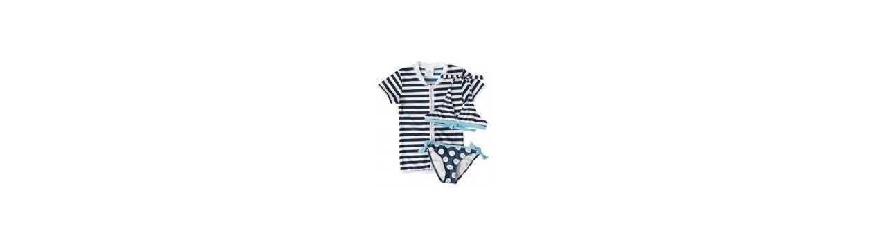 UV setjes: UV shirt + bikini/ badpak