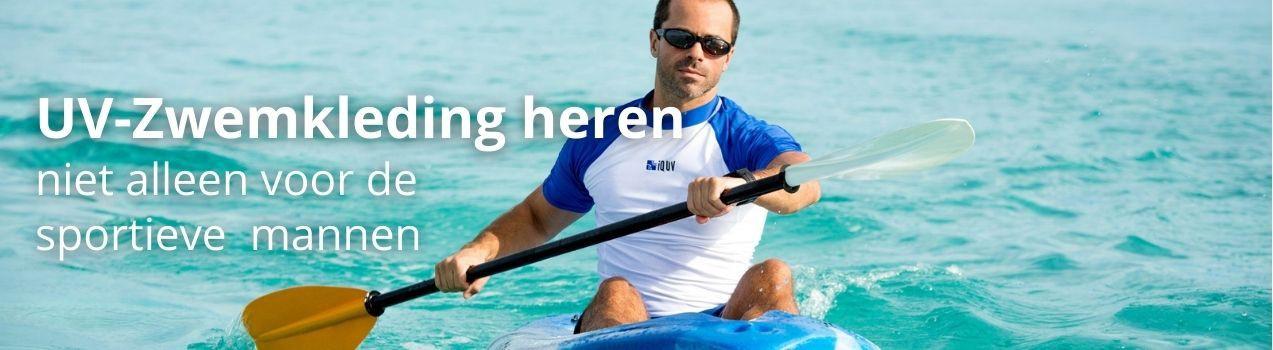 UV zwemkleding heren zoals UV shirts & petten vind je bij StoereKindjes